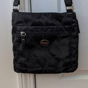 Coach Signature Nylon Getaway Crossbody Bag